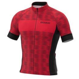Biemme koszulka CIPRESS czarno czerwona XL