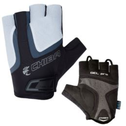 CHIBA rękawiczki GEL AIR S biało czarne