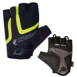 CHIBA rękawiczki GEL AIR XS czarno żółte
