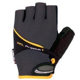 CHIBA rękawiczki Gel Premium XS szare
