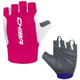 CHIBA rękawiczki MISTRAL różowe M