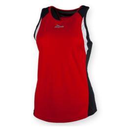 Rogelli koszulka bez rękawków ESTY M czerwona