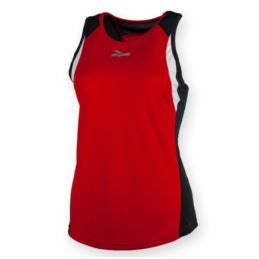 Rogelli koszulka bez rękawków ESTY L czerwona
