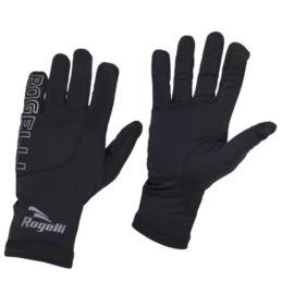 Rogelli rękawiczki biegowe TOUCH czarne M