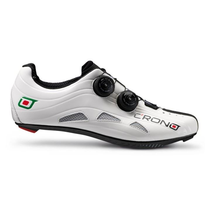 CRONO buty szosowe FUTURA 2 białe 43 carbon