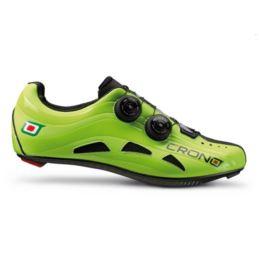 CRONO buty szosowe FUTURA 2 zielone 42 carbon