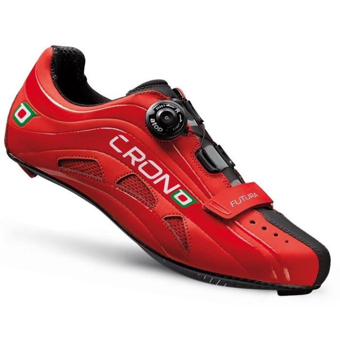CRONO buty szosowe FUTURA 2 czerwone 43 carbon