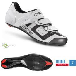 CRONO buty szosowe CR-3 białe 46 nylon
