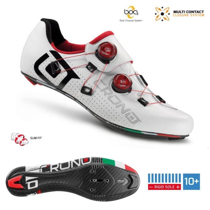 CRONO buty szosowe CR-1 białe 41 carbon