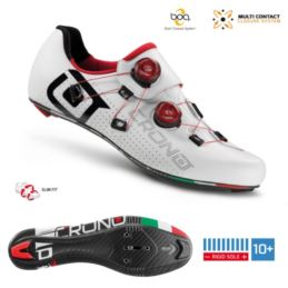 CRONO buty szosowe CR-1 białe 43 carbon