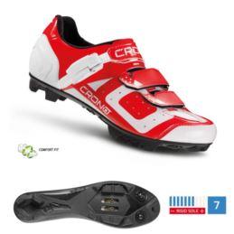 CRONO buty MTB CX-3 czerwone 44 nylon