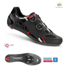 CRONO buty szosowe CR-2 czarny 43 carbon