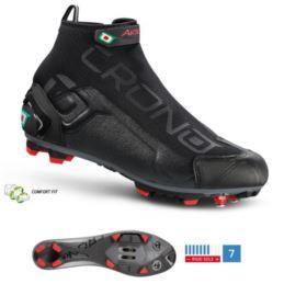 CRONO buty MTB CW-1 17 czarne 42 nylon