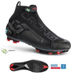 CRONO buty szosowe CW-1 17 czarne 44 nylon