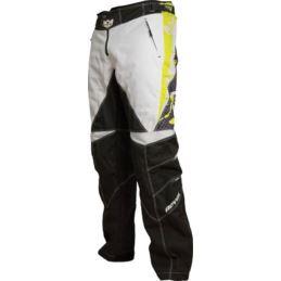 ROYAL Spodnie RACE zielono biało czarne XL