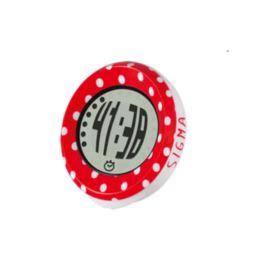 Sigma licznik  MySpeedy czerwono biały