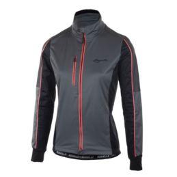 Rogelli bluza SHINE czarno szaro różowa M