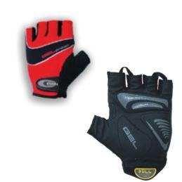 CHIBA rękawiczki Gel Protect XS czerwone