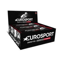 EUROSPORT Żel Truskawka+ magnez 20g 20 sztuk