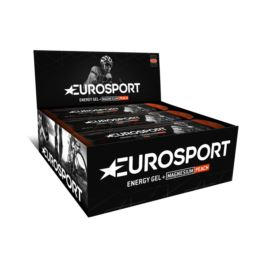 EUROSPORT Żel Brzoskwinia + magnez 20g 20 sztuk