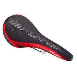FUNN siodełko ADLIB czarno czerwone chrom