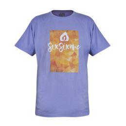661 T-Shirt SCRIPT purpurowa M