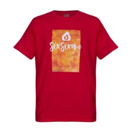 661 T-Shirt SCRIPT czerwony XL