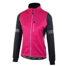 Rogelli bluza TRANSITION czarno różowa XS
