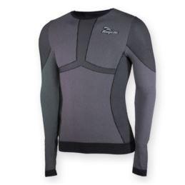 Rogelli koszulka długi rękaw CHASE czarna S/M