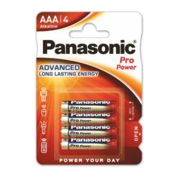 Baterie LR03 PANASONIC AAA PRO POWER 4 sztuki