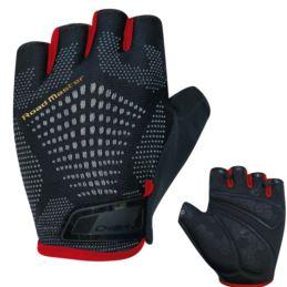 CHIBA rękawiczki ROAD MASTER czarno czerwone M