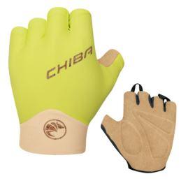 CHIBA rękawiczki ECO GLOVE PRO S limonkowe